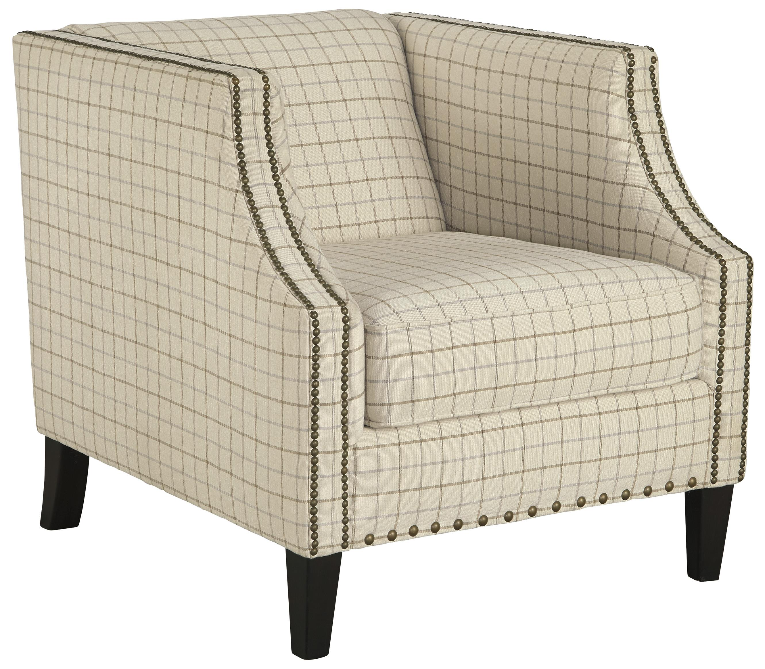 Club Style Accent Chair with Nailhead Trim by Signature Design by ...