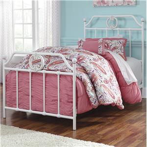 Signature Design by Ashley Korabella Twin Metal Bed