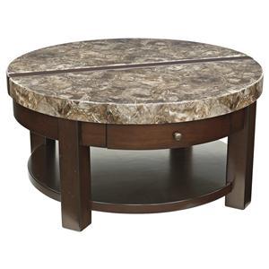 Ashley (Signature Design) Kraleene Round Lift Top Cocktail Table