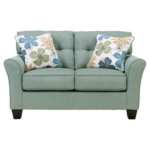 Signature Design by Ashley Furniture Kylee - Lagoon Loveseat