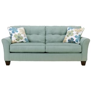 Signature Design by Ashley Furniture Kylee - Lagoon Sofa