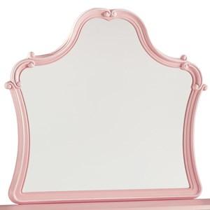 Blush Pink Bedroom Mirror