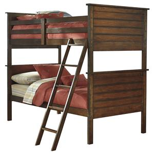 Rustic Twin/Twin Bunk Bed