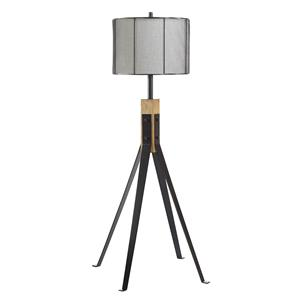 Signature Design by Ashley Lamps - Contemporary Metal Floor Lamp