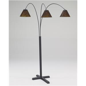 Signature Design by Ashley Lamps - Vintage Casual Sharde Metal Arc Lamp