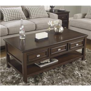Signature Design by Ashley Larimer Rectangular Cocktail Table