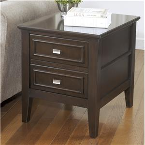 Ashley (Signature Design) Larimer Rectangular End Table