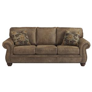 Signature Design by Ashley Larkinhurst - Earth Queen Sofa Sleeper