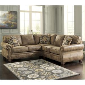 Signature Design by Ashley Larkinhurst - Earth Corner Sectional