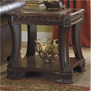 Signature Design by Ashley Ledelle Square End Table