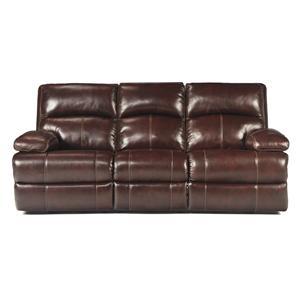 Signature Design by Ashley Lensar - Burgundy Reclining Sofa
