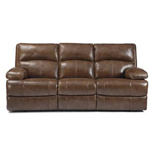 Signature Design by Ashley Lensar - Nutmeg Reclining Sofa