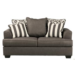 Signature Design by Ashley Levon - Charcoal Loveseat