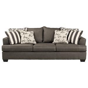 Signature Design by Ashley Levon - Charcoal Sofa