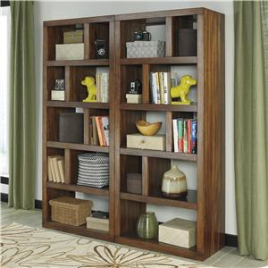 Signature Design by Ashley Lobink 2-Piece Bookcase Set