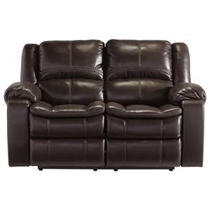 Signature Design by Ashley Long Knight Reclining Power Loveseat