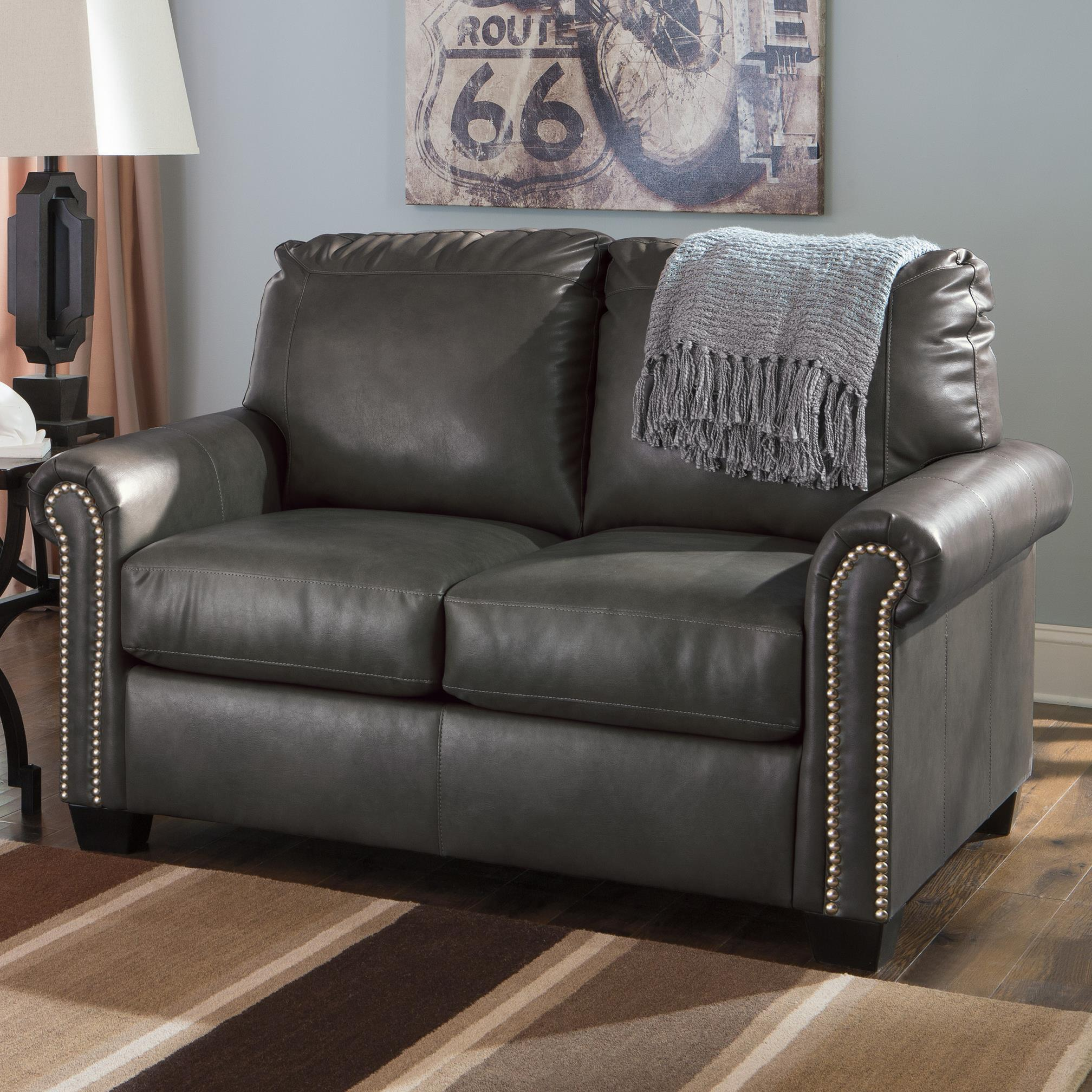 Transitional Faux Leather Match 57 Twin Sofa Sleeper With Memory  ~ Sofa Sleepers With Memory Foam Mattress
