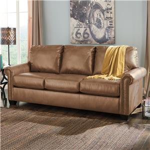 Signature Design by Ashley Furniture Lottie DuraBlend® Queen Sofa Sleeper