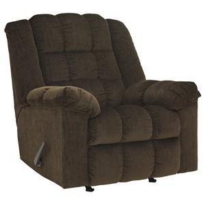 Signature Design by Ashley Ludden - Cocoa Power Rocker Recliner