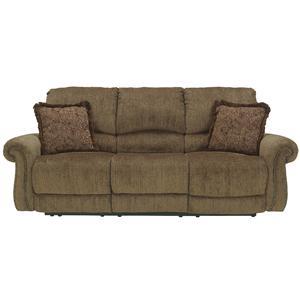 Signature Design by Ashley Macnair - Umber Reclining Sofa