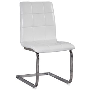 Contemporary Fully Upholstered Dining Side Chair