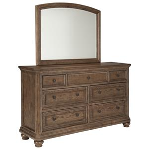 Signature Design by Ashley Maeleen Dresser & Bedroom Mirror