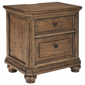 Signature Design by Ashley Maeleen Two Drawer Night Stand