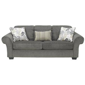 Signature Design by Ashley Makonnen - Charcoal Sofa