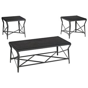 Signature Design by Ashley Manifield 3-Piece Occasional Table Set