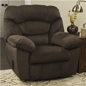 Signature Design by Ashley Manzel - Chocolate Rocker Recliner
