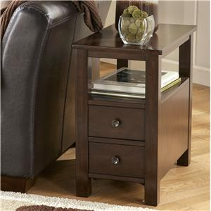 Signature Design by Ashley Furniture Marion Chairside Cabinet Table