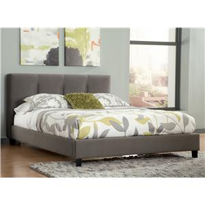 Signature Design by Ashley Masterton Queen Upholstered Platform Bed