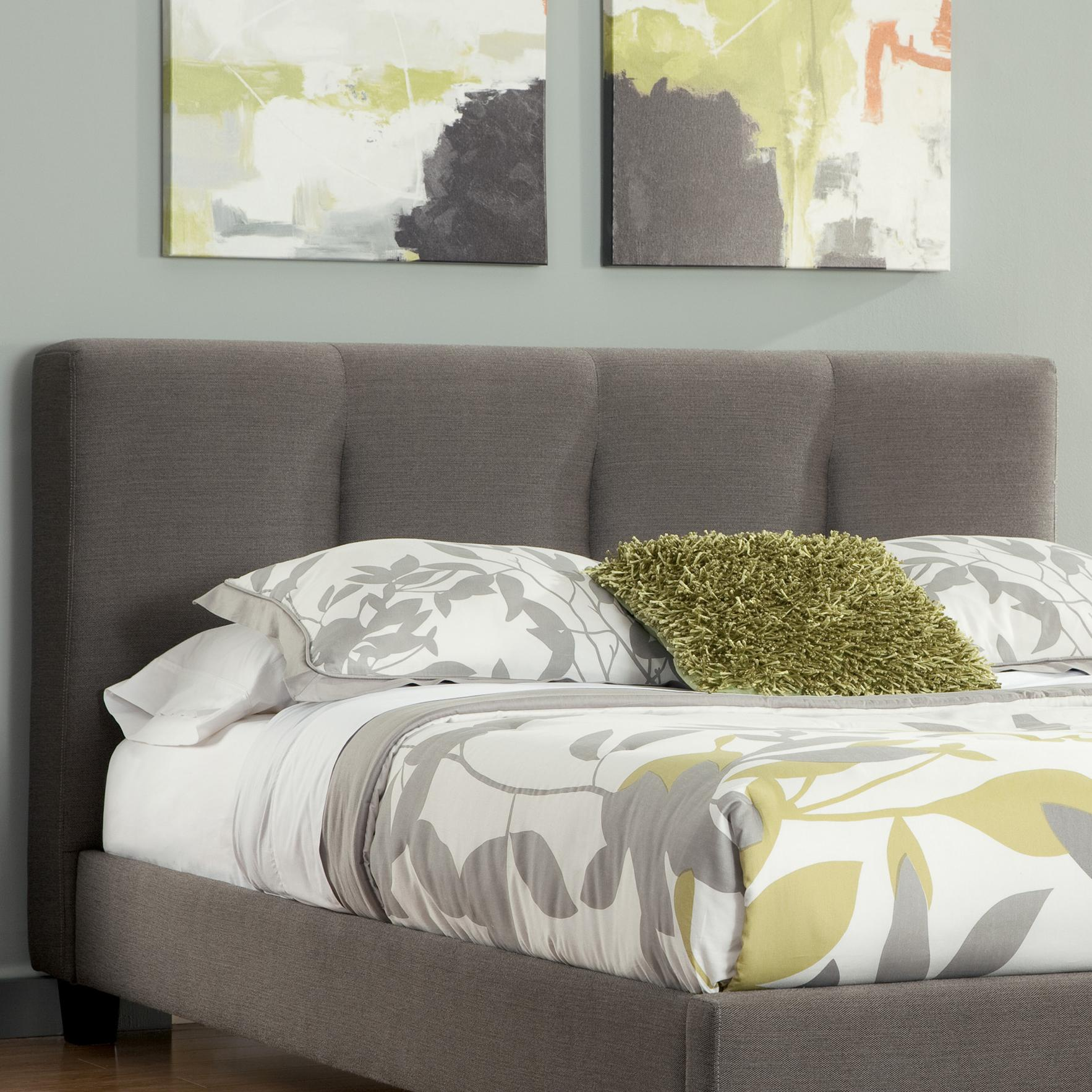 king headboard upholstered dark in pin gray california with