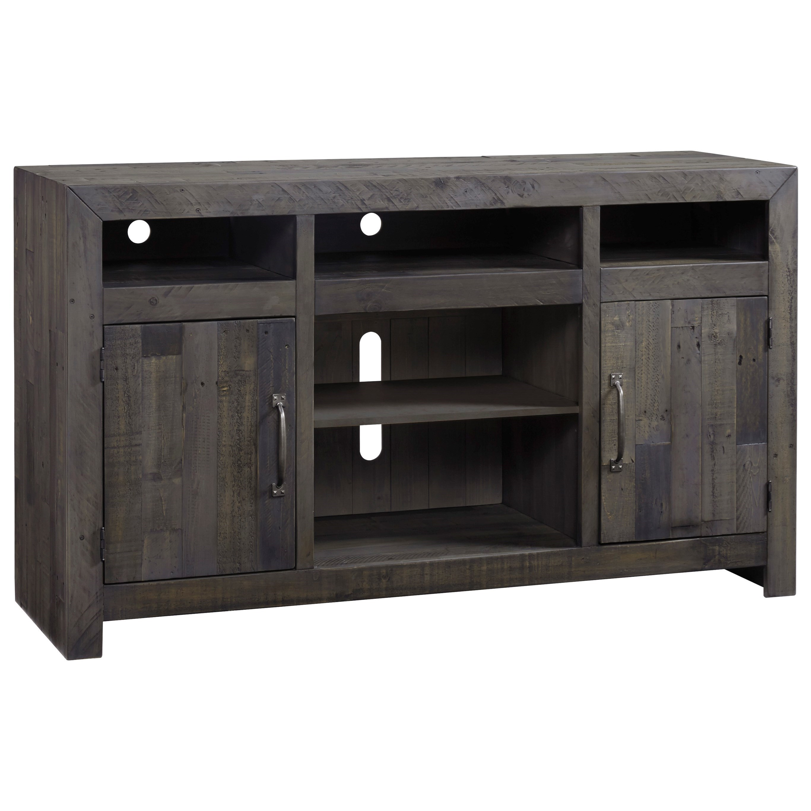 Reclaimed Solid Wood Large TV Stand