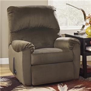 Signature Design by Ashley McFarin - Hickory Swivel Glider Recliner