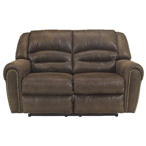 Signature Design by Ashley McNeil - Java Reclining Power Loveseat