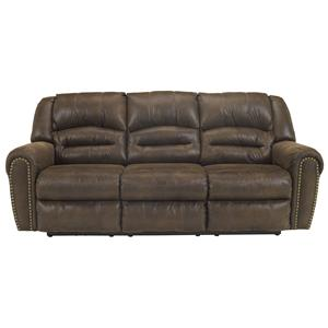Signature Design by Ashley McNeil - Java Reclining Power Sofa