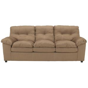 Signature Design by Ashley Furniture Mercer - Mocha Sleeper Sofa