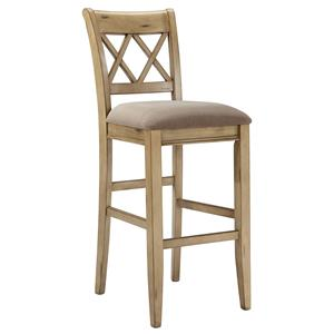 Signature Design by Ashley Mestler Tall Upholstered Barstool