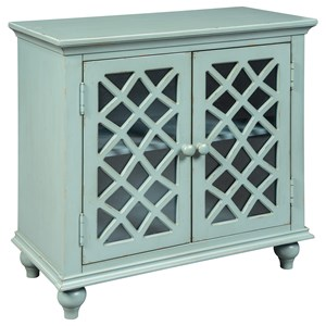 Relaxed Vintage Accent Cabinet