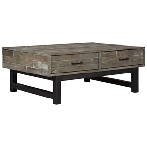 Industrial Lift Top Cocktail Table