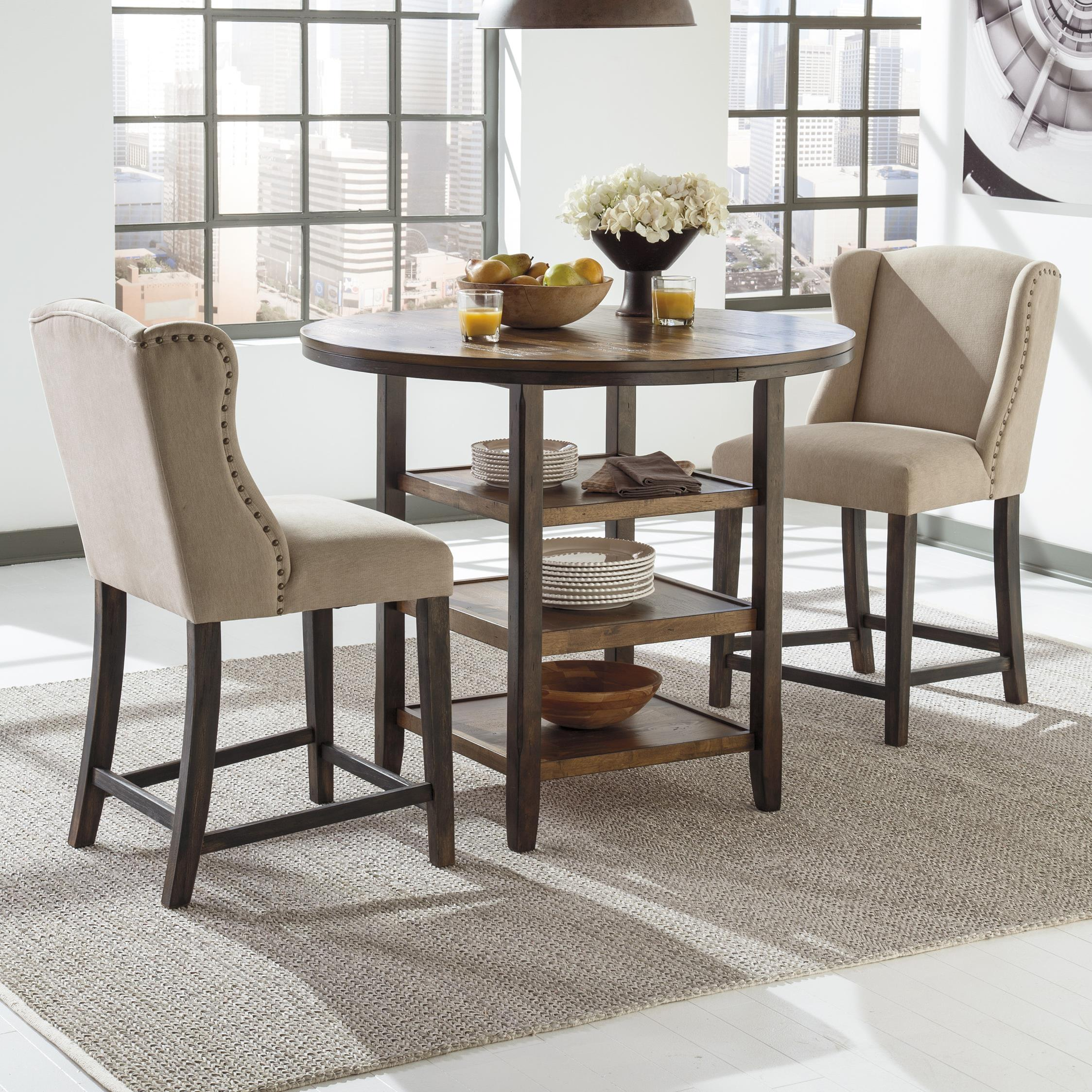 3 Piece Counter Table Set