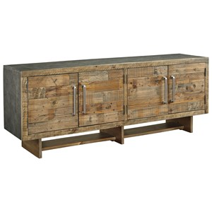 Industrial Reclaimed Pine Extra Large 72
