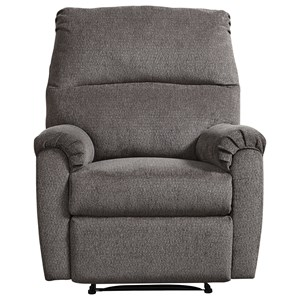 Zero Wall Recliner with Channel Back
