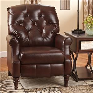 Signature Design by Ashley Newsburgh High Leg Recliner
