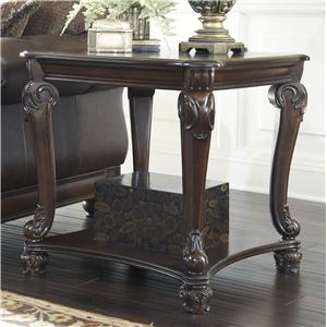 Signature Design by Ashley Norcastle Square End Table