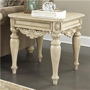 Signature Design by Ashley Furniture Ortanique Square End Table