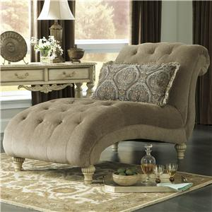 Signature Design by Ashley Parkington Bay - Platinum Chaise