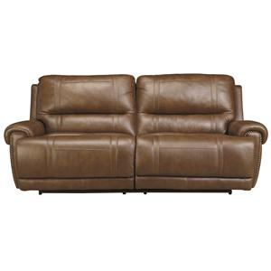 Signature Design by Ashley Paron - Vintage 2 Seat Reclining Power Sofa