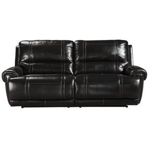 Signature Design by Ashley Paron - Antique 2 Seat Reclining Sofa